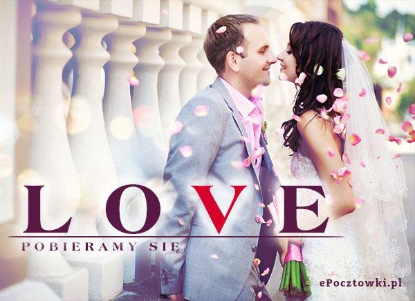 Pobieramy się!