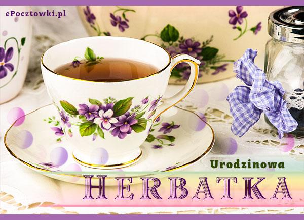 Urodzinowa herbatka