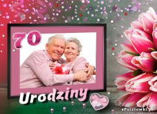 Darmowa Kartka Elektroniczna życzenia Na 70 Urodziny E