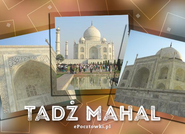 Kartka Tadż Mahal