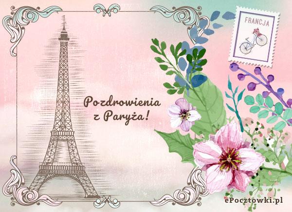 Pocztówka z Paryża