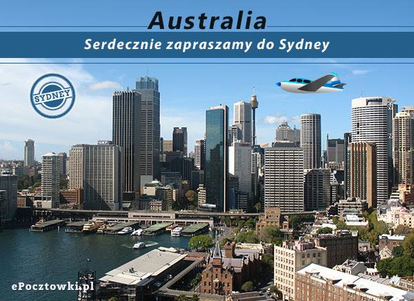 Serdecznie zapraszamy do Sydney
