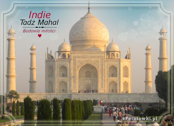 Tadż Mahal - Budowla miłości