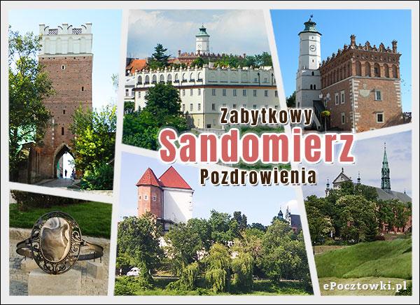 Zabytkowy Sandomierz