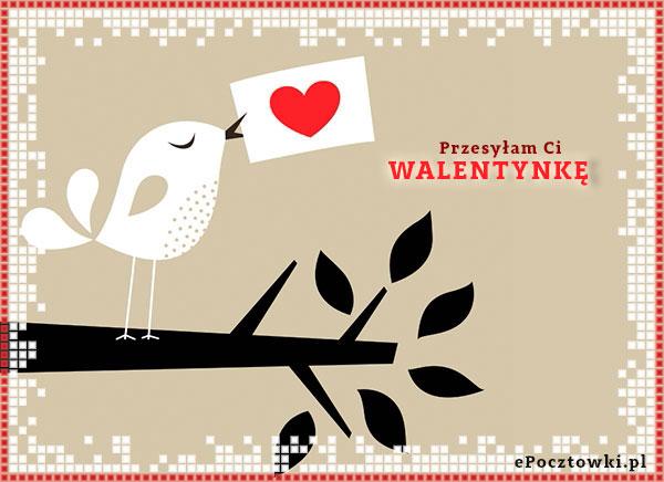 Przesyłam Ci Walentynkę