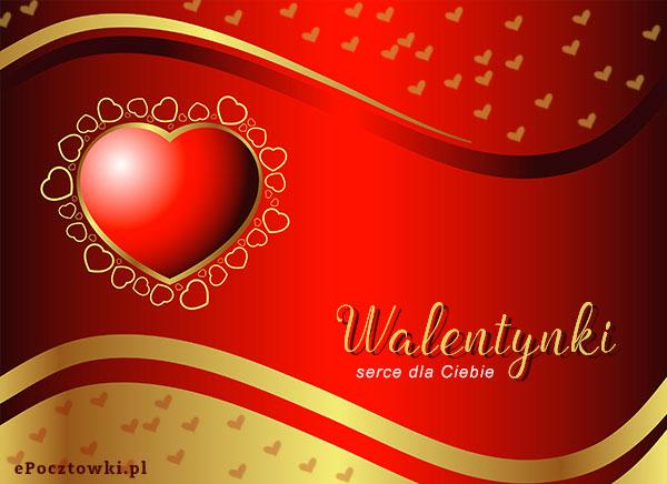 Serce na Walentynki