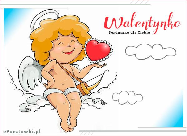 Walentynkowy Aniołek