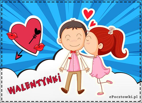 Buziaki na Walentynki