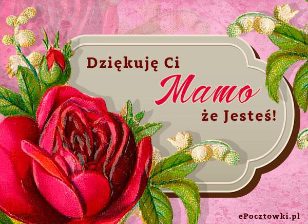 Dziękuję Ci Mamo że Jesteś