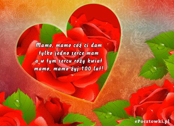 Serce pełne róż