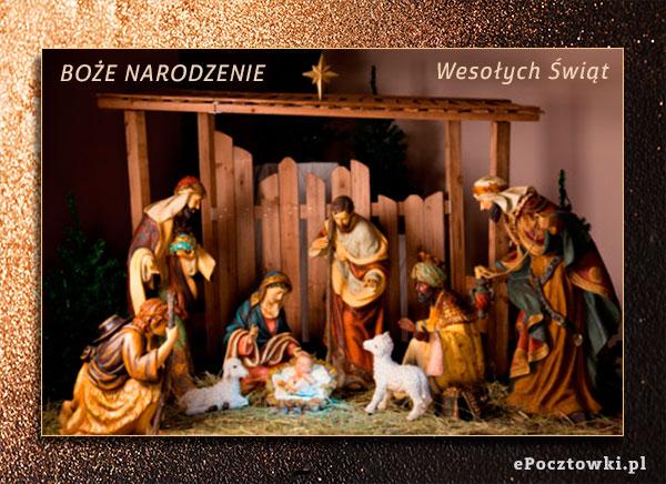 Bożonarodzeniowa szopka