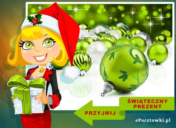 Przyjmij świąteczny prezent
