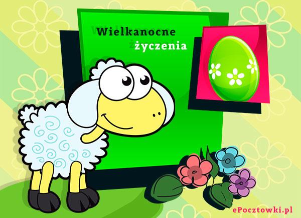 e-Kartka z owieczką