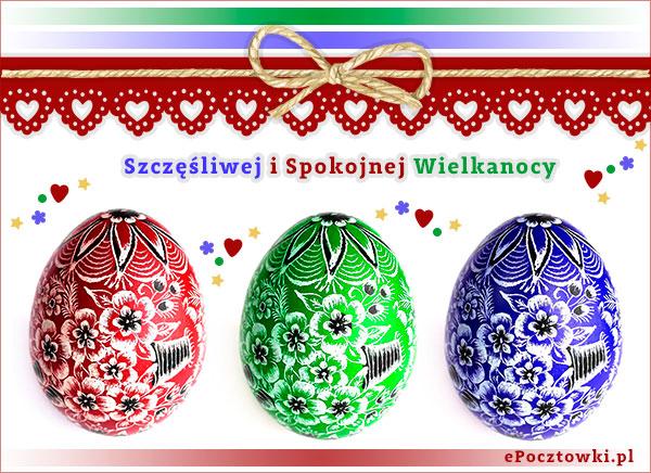 Szczęśliwej i Spokojnej Wielkanocy
