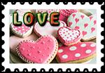 Znaczek_Ciastka_Love