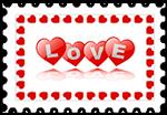Znaczek_Love
