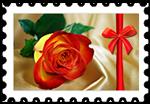 Znaczek_Róża
