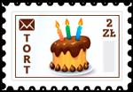 Znaczek_Tort