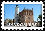 Znaczek_Sandomierz